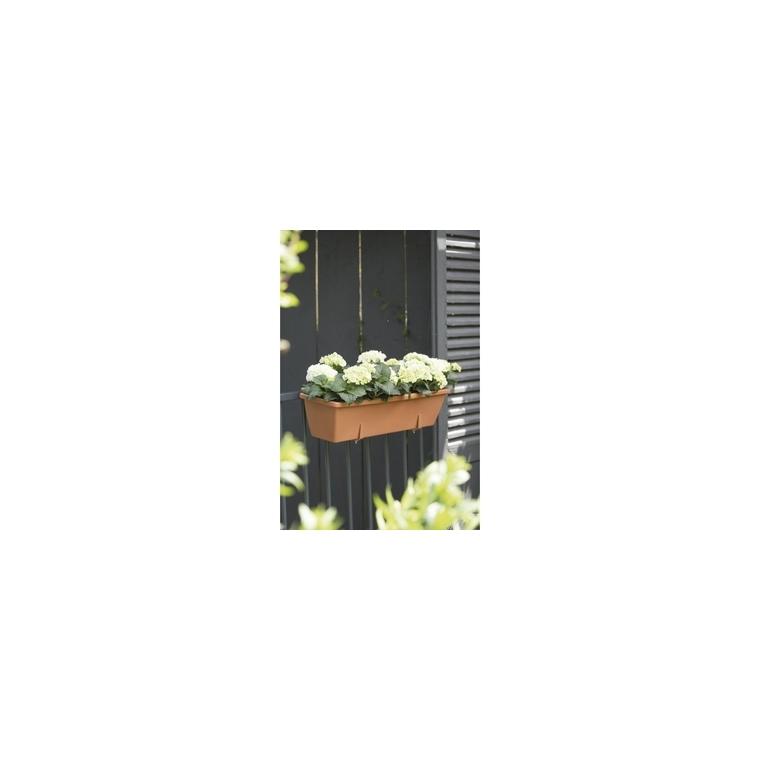 Jardinière 70cm Barcelona Elho coloris terre cuite 165207
