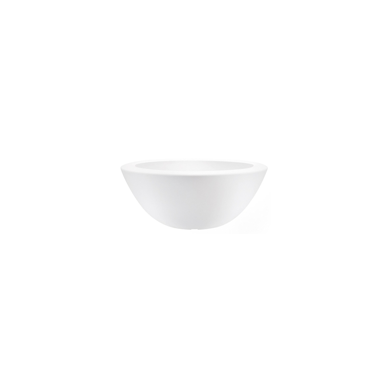 Pot 50cm Pure Soft bowl Elho blanc 165266