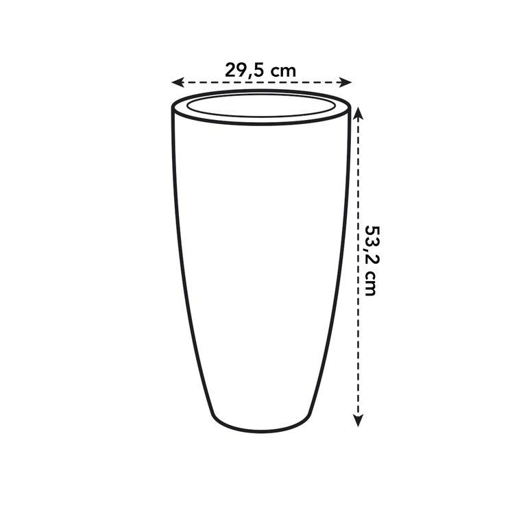 Pot 30cm Pure Soft High Elho anthracite 165268