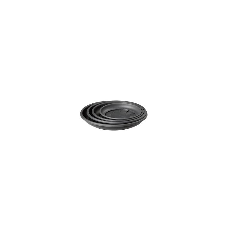 Soucoupe ronde 11cm anthracite ELHO 165323