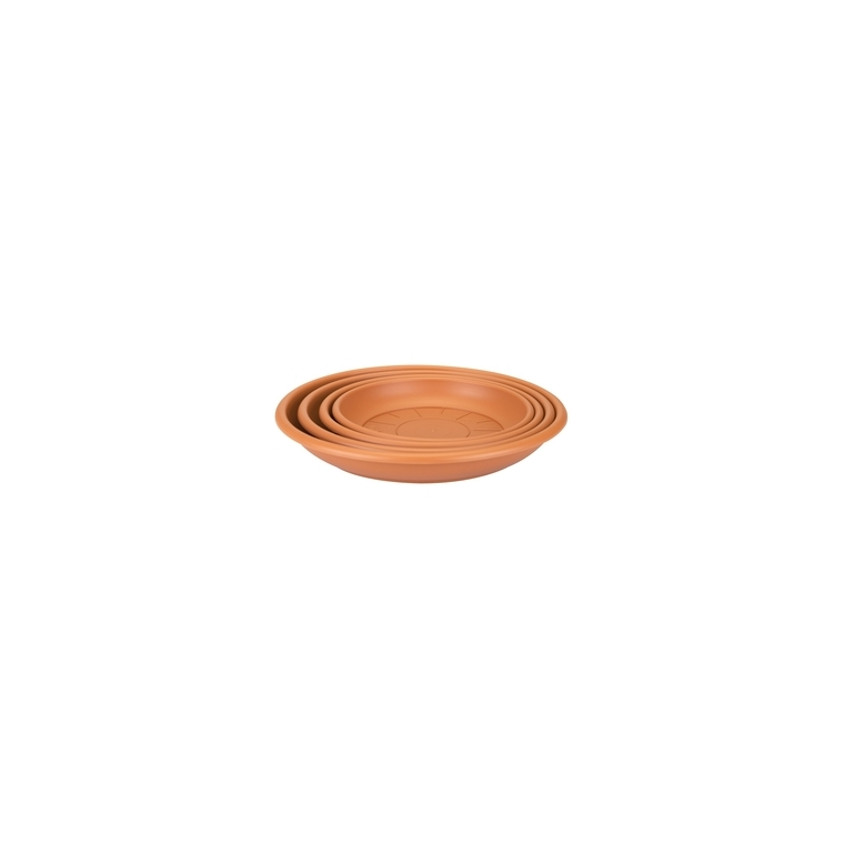 Soucoupe ronde 17 cm terre cuite ELHO 165350
