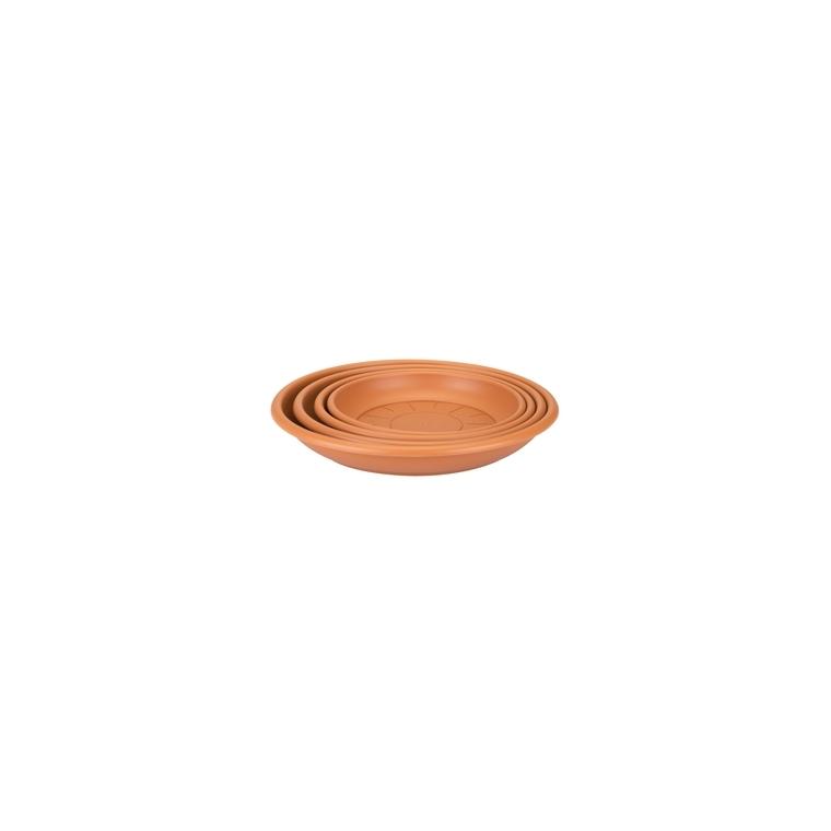 Soucoupe ronde 27 cm terre cuite ELHO 165354