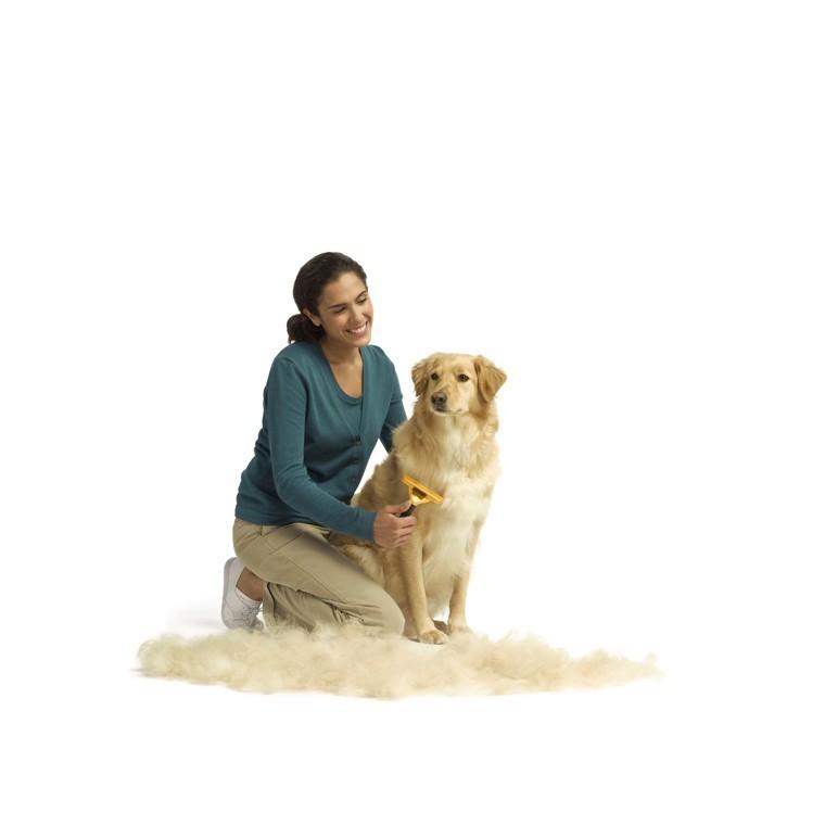 Brosse Furminator M chien poils courts 167418