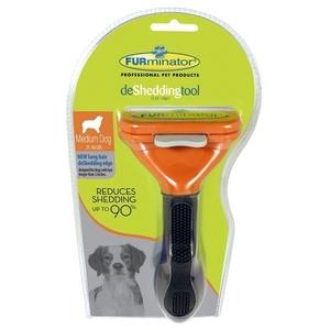 Brosse Furminator chiens poils longs M