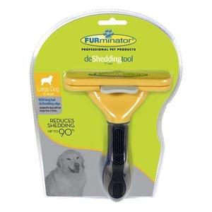 Brosse Furminator chiens poils longs L