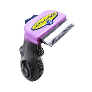 Brosse Furminator chats poils courts S