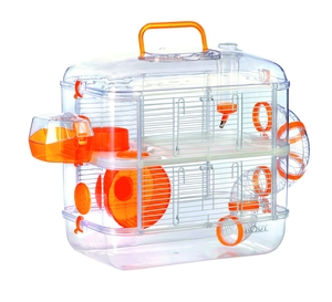 Cage hamster rodylounge Duo - Orange