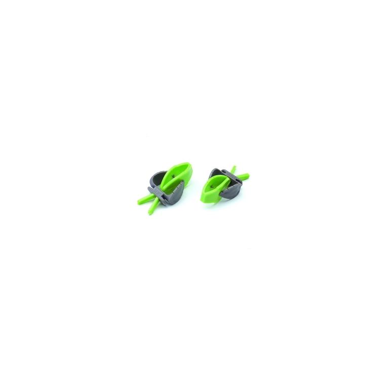 Pincette universelle verte pour accessoires oiseaux 168047