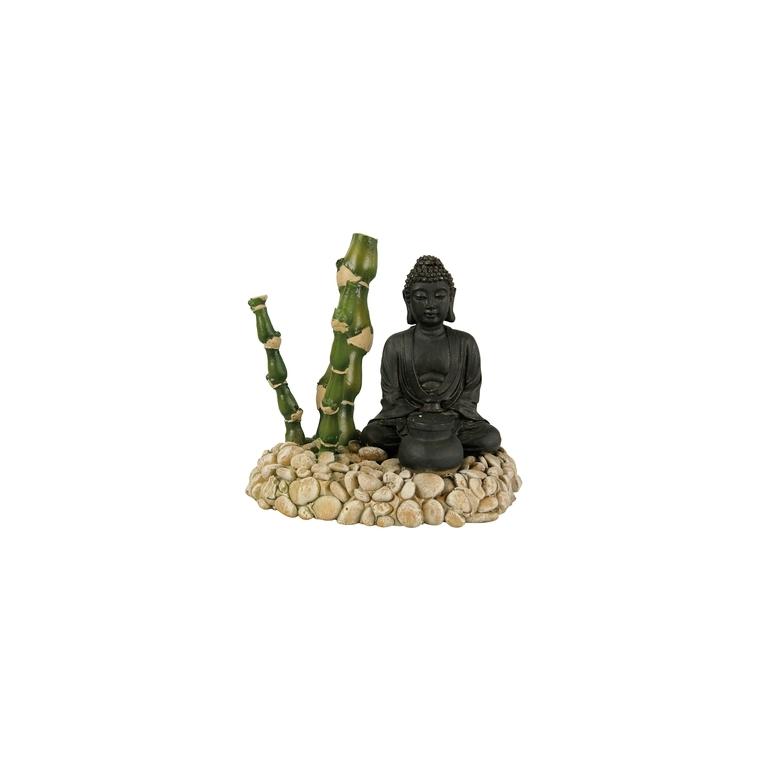 Décor avec diffuseur bouddha et bambou L13xl9xh12 cm 168155