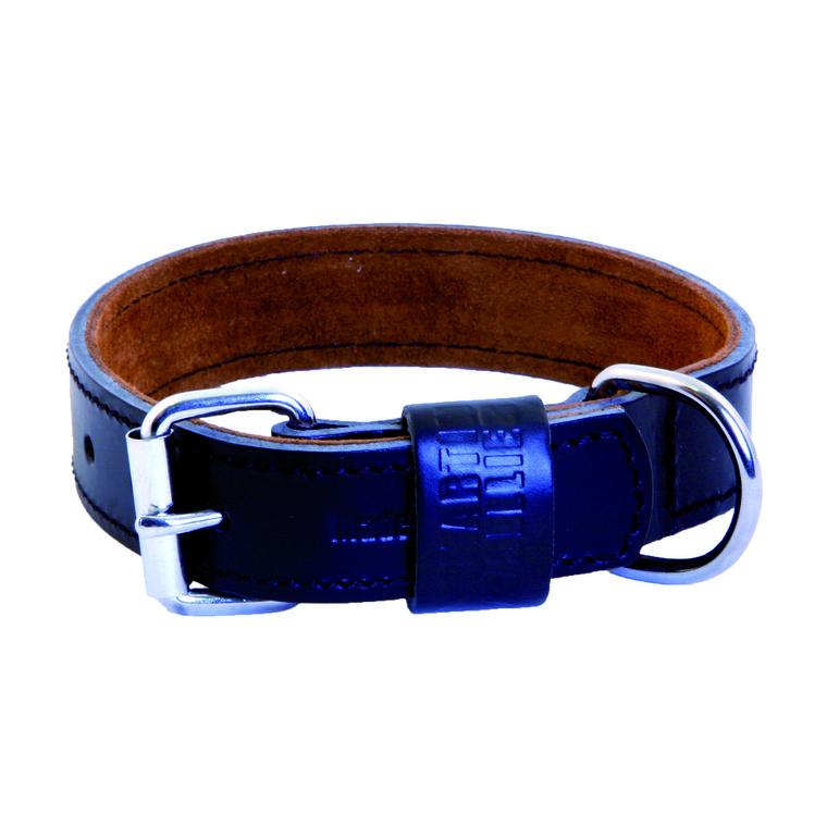 Collier en cuir Black & Tan pour chien 2,5x45 cm 170313