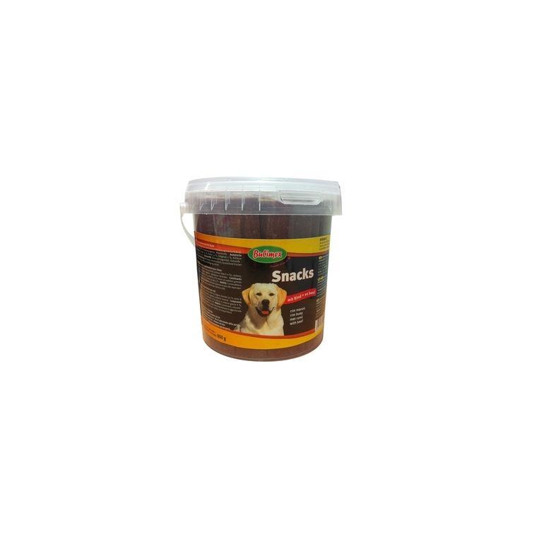 Pot de friandises extrudées au bœuf Bubimex 800 g