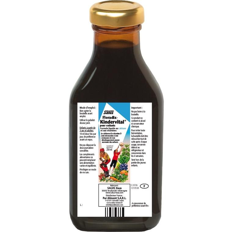 Complément nutritionnel Kindervital 250 ml 170817