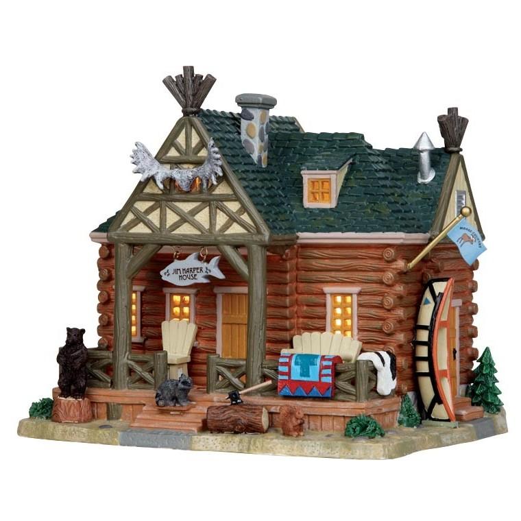Maison Jim Harper collection Vail Village Lemax 170964
