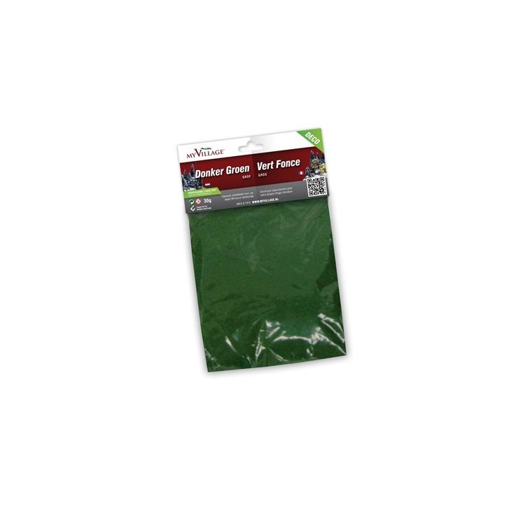 Poudre décorative vert foncé gros grains 30g