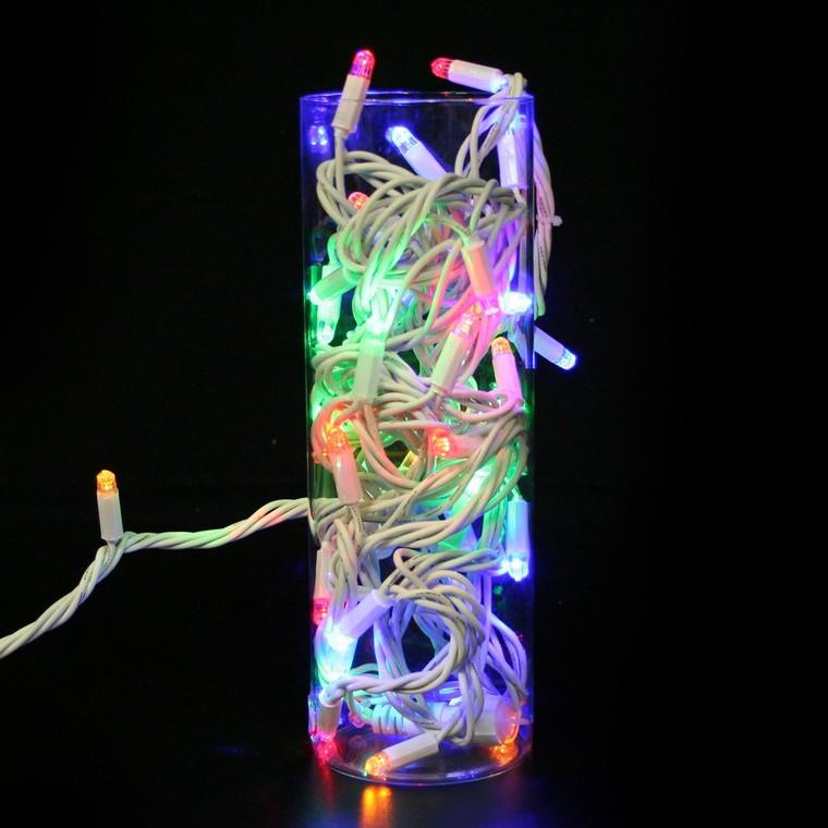 Guirlande lumineuse LED blanc 18 m 171060