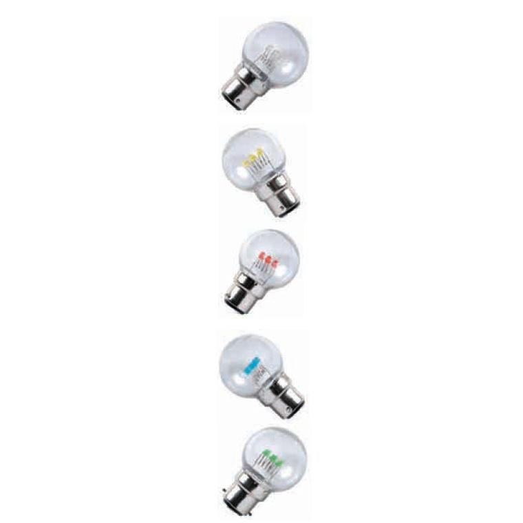 10 lampes led filament B22 171331