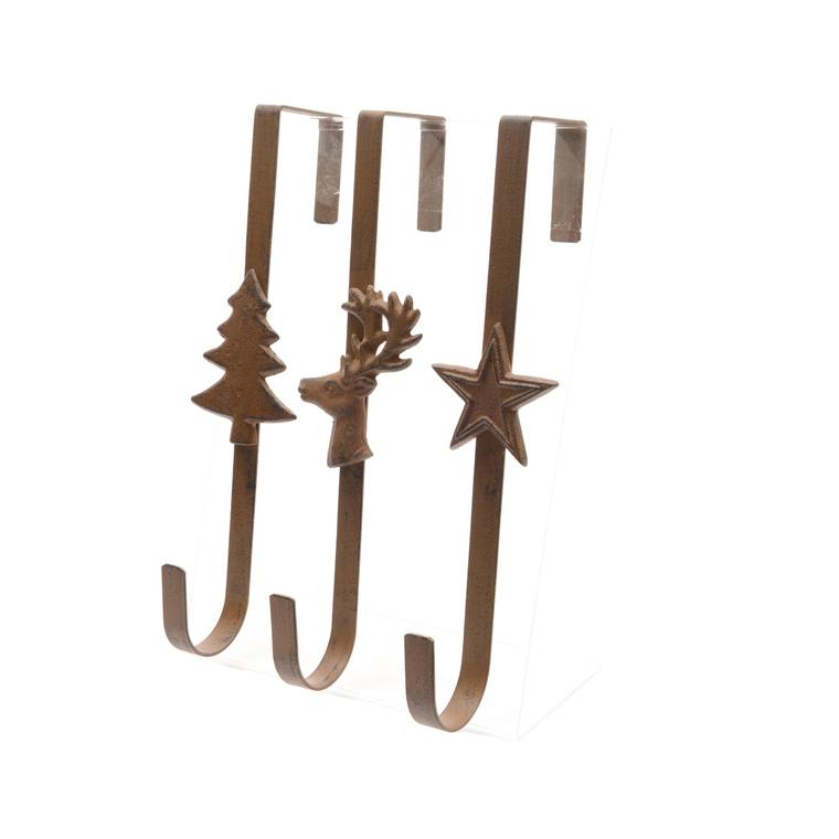 Portes-couronne à suspendre 7 x 11 x 29 cm - 3 modèles 172974