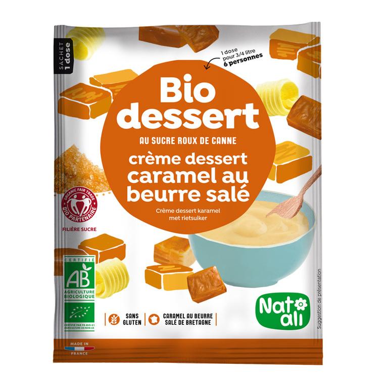 Préparation pour crème caramel au beurre salé sachet 60g 173860