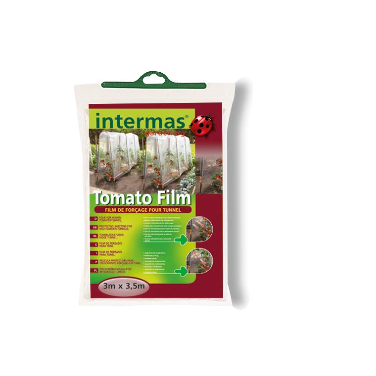 Tomato film coloris transparent 3x3,5 m 175008