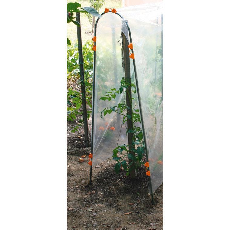 Tuteur pour tomate coloris vert 1,80x0,30 cm 175010