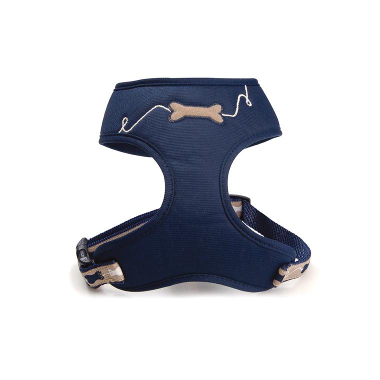 Harnais tee-shirt pour chien Kyrielle bleu - taille M 176935