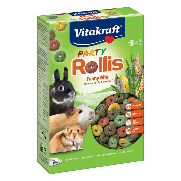 Friandise Rongeurs Rollis Party Vitakraft 500 G 178498