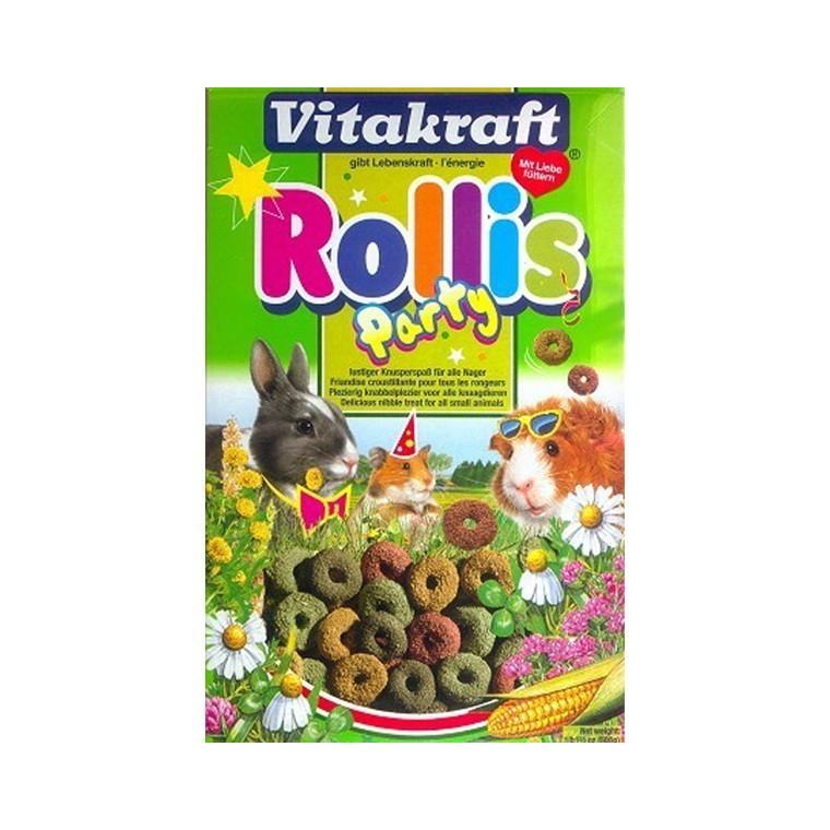 Friandise Rongeurs Rollis Party Vitakraft 500 G