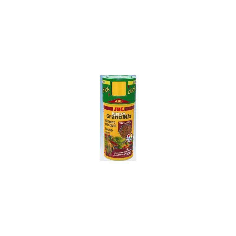Nourriture pour poisson Novogranomix Click. La boite de 250 ml 178819