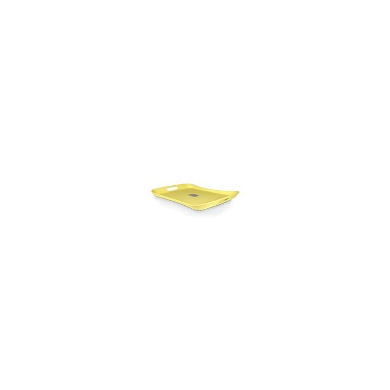 Plateau Weber Style jaune anis 182695