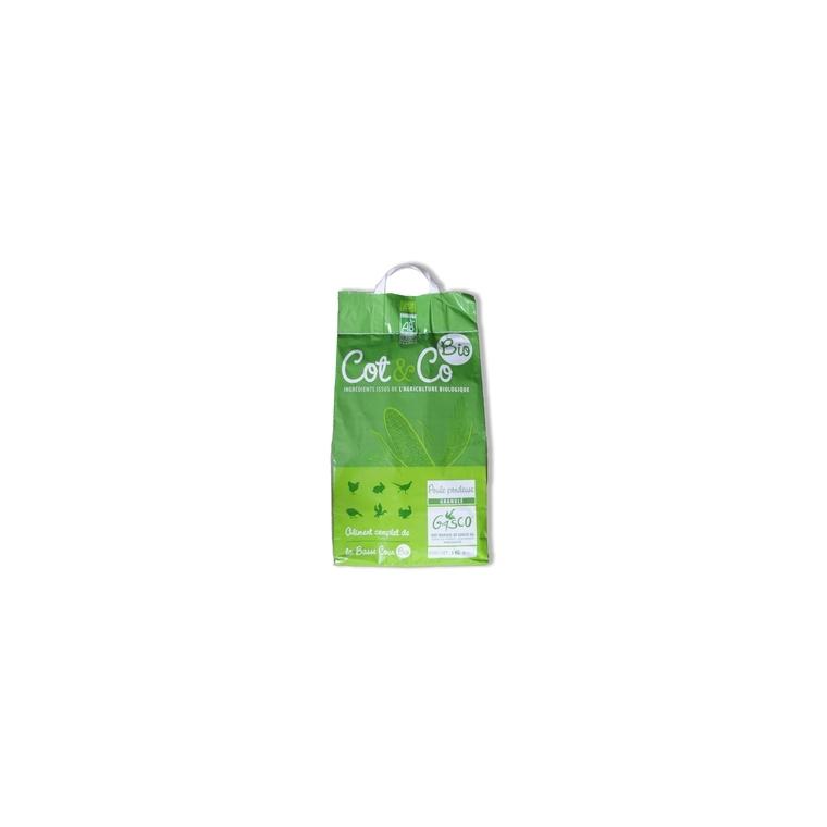 Alimentation poule pondeuse granulés bio COT & CO 5 kg 183279