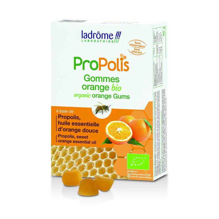 Gommes propolis et orange 45 g