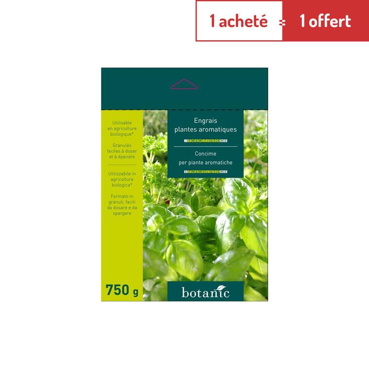 Engrais 750g aromatiques 183936