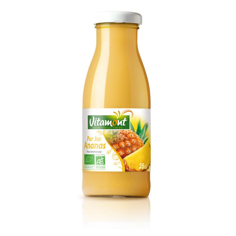 Mini pur jus d'ananas bio - 25 cl 184562