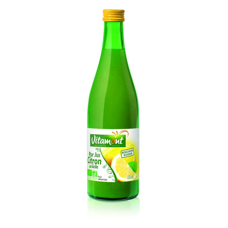 Pur jus de citron bio 50 cl