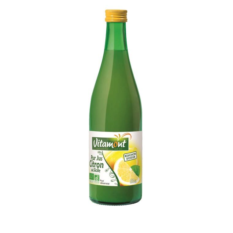 Pur jus de citron bio 50 cl 184564