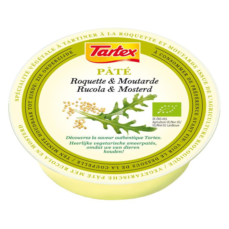 Pâté végétal à la crème de roquette et moutarde bio 75 g