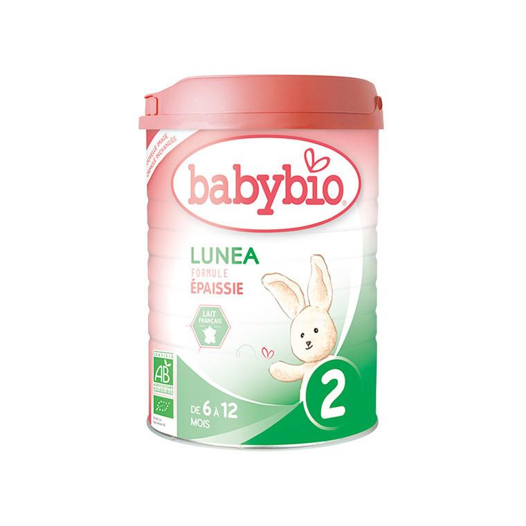 Lait infantile Babybio optima 2e âge lunea bio 900 g