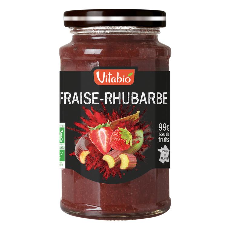Délice de Fraise-Rhubarbe bio 290 g