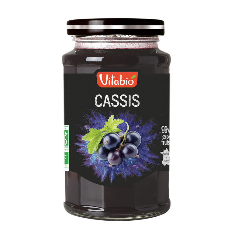 Délice de Cassis bio 290 g 185839