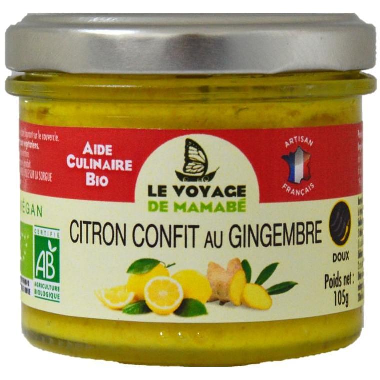 Citron confit au gingembre 186428