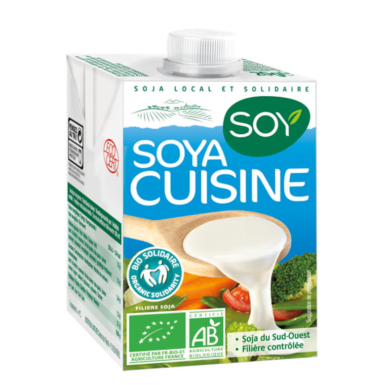 Creme de soja cuisine SOY 187751