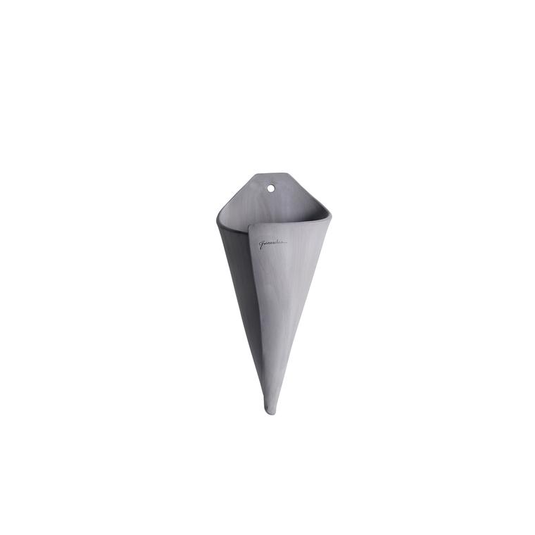 Applique cône naturel en terre cuite H 35 x Ø 23 cm 187975