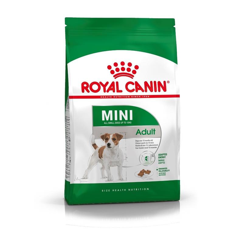 Croquettes pour chien Mini Adult en sac de 800 g 189501