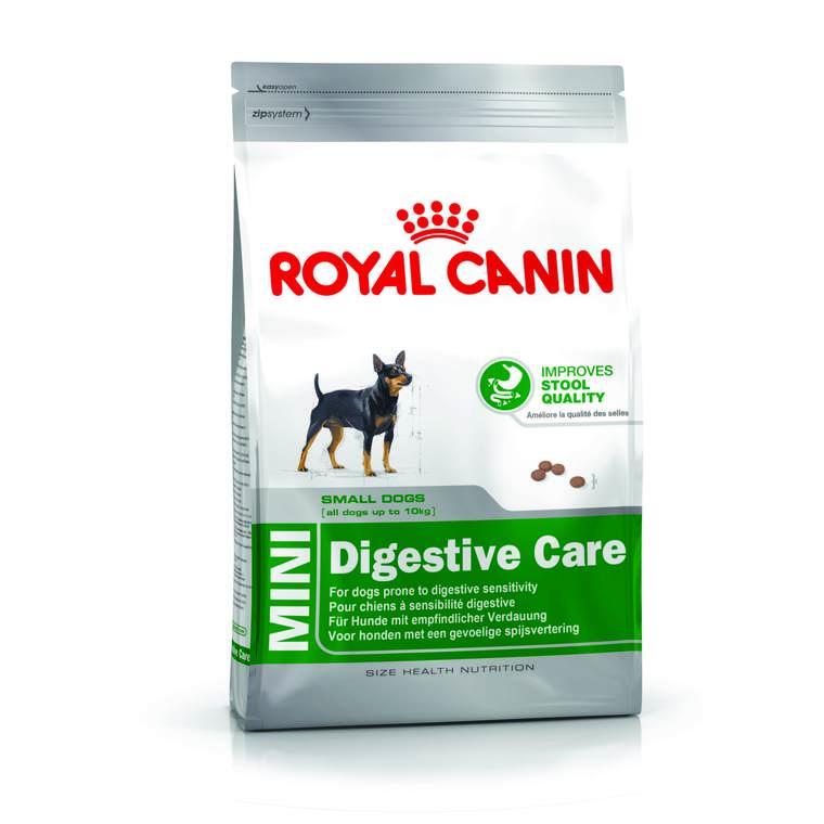 Croquettes Royal Canin Mini digestive care pour chien 2 kg