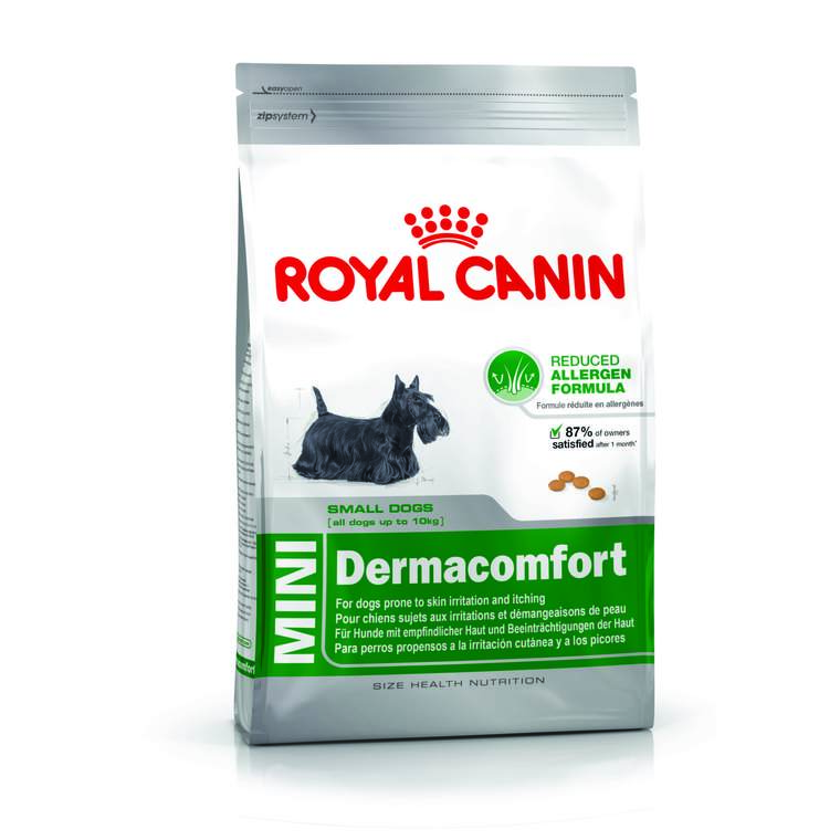 Croquettes Royal Canin Mini dermacomfort 2 kg
