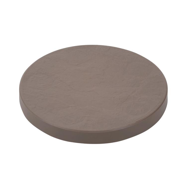 Support 5 roulettes, décor pierre, diamètre 30 cm 196451