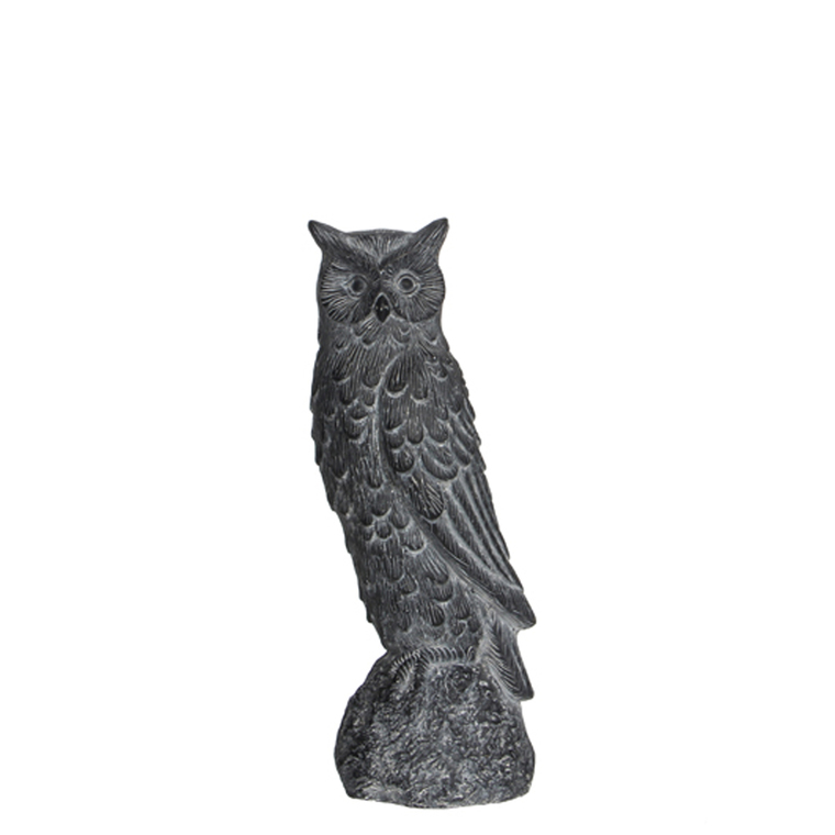 Statue de jardin hibou H 39,5 cm 196839