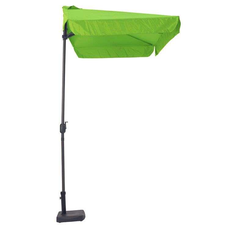Demi parasol rectangulaire vert 2,30 m x 1,30 m 197093
