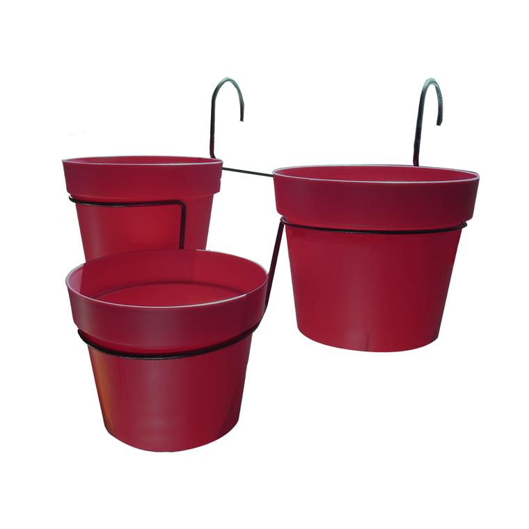 Porte pots Trio Cascade avec pots 197841