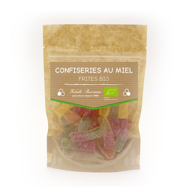 Bonbons bio frites - 120 gr